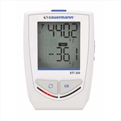 4 Ch. Thermocouple Data Logger with Bluetooth KTT320 Sauermann