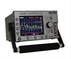 Extended Portable Spectrum Analyzer with Display PSA-2500-CTX Avcom