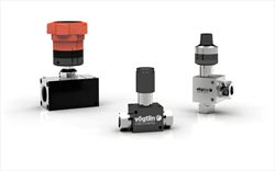 High-precision Control Valves for Gases for fine Dosages M-Flow Voegtlin