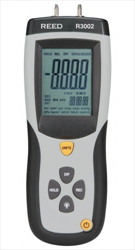 Digital Manometer, Gauge / Differential, 5psi R3002 REED