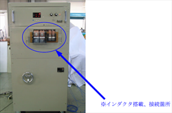 Tester for inductor evaluation Tokyo Seiden