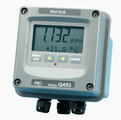 Gas Detector Q45S Wet H2S Analytical Technonogy
