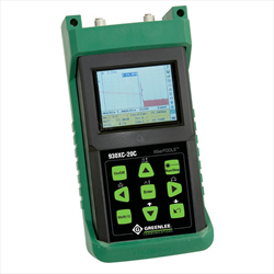 Greenlee 930XC-20C-UPC-SC Optical Time Domain Reflectometer (OTDR) 13/15