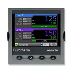 Multi Loop Temperature Controllers nanodac™ Recorder / Controller Eurotherm