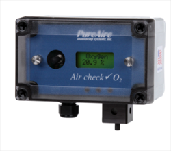 Oxygen Monitors 10+ Year Sensor PureAire Monitoring Systems