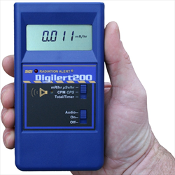 Radiation Alert Digilert 200 Handheld Radiation Survey Meter - SE International