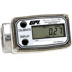 Commercial Grade Electronic Digital Meter,Low Flow,Aluminum A109LMA025IA1 Great Plains Industries
