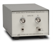 Transformer input preamplifier SR554 SRS Stanford Research System