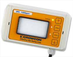Crowcon F-Gas Detector SF6 Crowcon