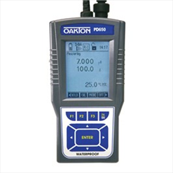 Meter and Probes PH/DO 650 with NIST Traceable Calibration Report WD-35432-01 Oakton