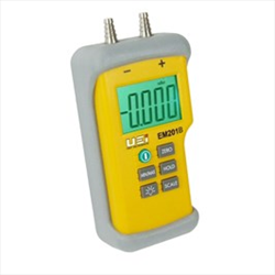 Test Dual Input Differential Manometer EM201B Uei