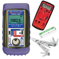 Multifunction Calibrator, Boot with Leatherman, DMM, Cal Labels 820-L-VIP PIE