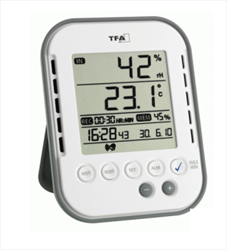 Temper­ature/​Humidity-Logger with alarm and wire­less sensoric TA 122 Dostmann electronic