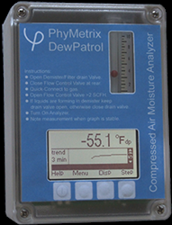 Compressed Air Moisture Analyzer DewPatrol PhyMetrix