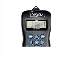 Handheld device with built in GPS data tagging GPS Aquameter Aquaread