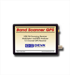 FM Radio Monitoring Band Scanner GPS Deva Broadcast