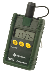 METER, FIBRE OPTIC POWER 560XL Greenlee