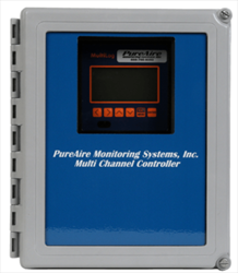 Controllers 4-8 Channel PureAire Monitoring Systems
