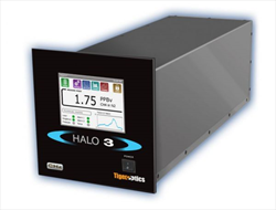 Trace methane analyzer for high-purity gases HALO 3 CH4 Tiger Optics