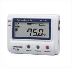 Thermoocuple Temperature Data Logger TandD TR-75nw Tecpel