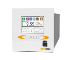 Trace moisture analyzer for pure nitrous oxide HALO H2O in N2O Tiger Optics