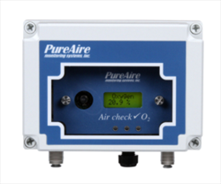 Sample Draw Oxygen Monitor w/ 10+ Year Sensor PureAire Monitoring Systems