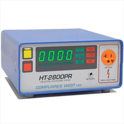 Compliance HT-2800PR Hipot Tester, 0-2800Vdc 5mA, Adjustable Ground Continuity