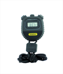Multi-Function Black Stopwatch SW100A General Tools
