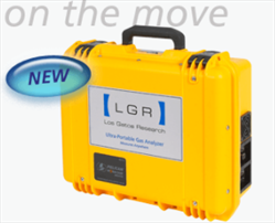 Ultraportable Greenhouse Gas Analyzer (CH4,CO2,H2O) LGR Los Gatos Research