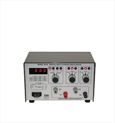 WATT AND PHASE ANGLE METER 632A Red Phase