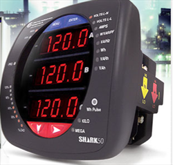Multifunction Electrical Power Meter Shark 50 Electro-Industries Gaugetech