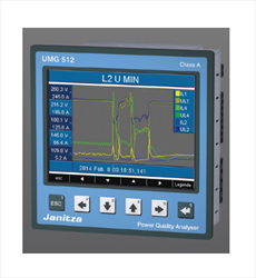 Multifunction power analyser UMG 512 Janitza