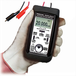 PIE 334 Plus Process Loop Calibrator 4-20mA with loop leakage current detection
