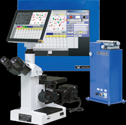 SG analyzer by photographing and preserving metallographic structure, image analysis Nakayama