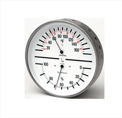 Humidity/Temperature Dial, Stainless Steel Case 5063-33 Abbeon Instrument