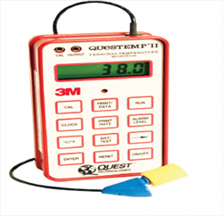 3M QUESTemp II Personal Heat Stress Monitor Kit  3M Environment