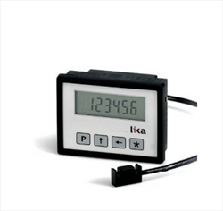 Battery powered LCD display with magnetic sensor LD140 Lika Electronic