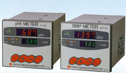 Industrial high performance indicator system pH/ORP METER Chuo Seisakusho