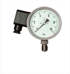 Cảm biến đo áp suất Pressure transmitter with analog actual value display Jumo