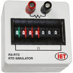 Digital Resistance Substituter RS-RTD IET Lab