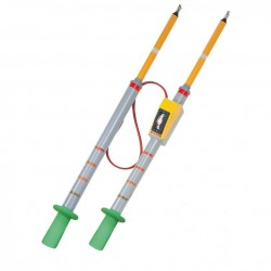 High Voltage Phasing Stick, 22kV/24kV/30kV, 4.9 ft HPC22K Hoyt Electrical Instrument