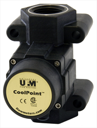 Coolpoint / Vortex Shedding Flowmeters for Water / Coolant CPM series UFM