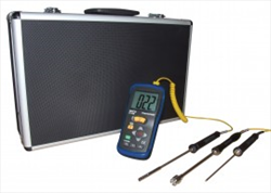 Deluxe Thermometer Kit with 3 Probes and Case ST-610BDELUXE REED