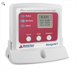 Wireless Thermocouple Temperature Data Logger RFTCTemp2000A MadgeTech