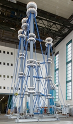 HVDC outdoor test system FGP Highvolt