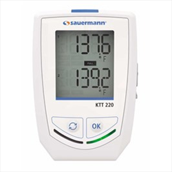 2 Ch. Thermocouple Data Logger with display KTT220O Sauermann