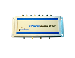 4x4 MIMO 1:2 Splitter OB-2WAY Octoscope
