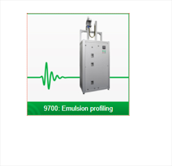 ULTRASONIC EMULSION AND SUSPENSION PROFILING 9700 SERIES Rhosonics