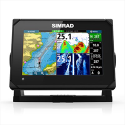 GO7 XSE with HDI Transducer and Basemap Simrad yachting