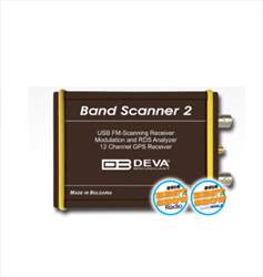 FM Radio Monitoring Band Scanner 2  Deva Broadcast